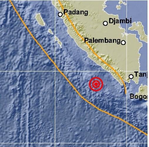 Gempa Guncang Pesisir Barat