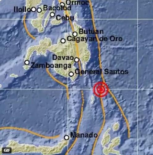 Gempa Magnitudo 7,1 Guncang Sulawesi Utara