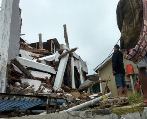 Gempa Sebabkan Sejumlah Rumah di Sukabumi Rusak