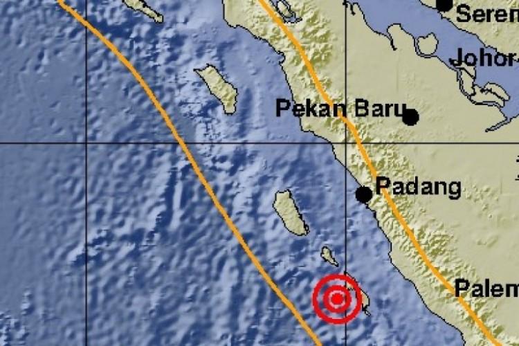Gempa Susulan 5,2 SR Goyang Padang Tak Berpotensi Tsunami