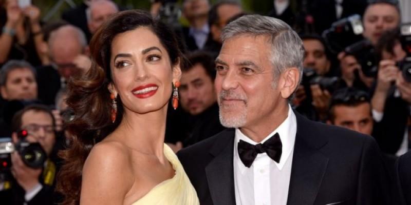 George dan Amal Clooney Bantu Anak-anak Korban Kebijakan Imigrasi