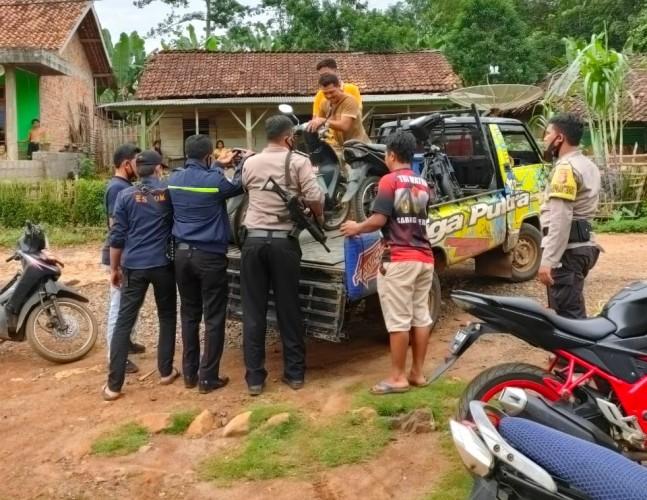 Gerebek Sabung Ayam, Polisi Sita Lima Motor dan Ayam Jago