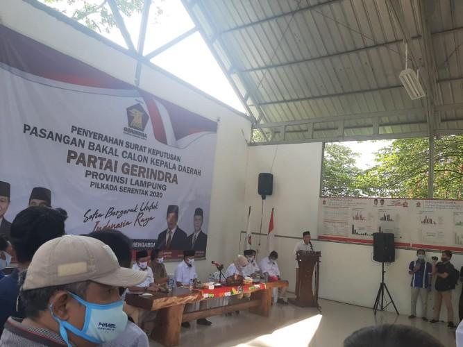 Gerindra Serahkan Rekomendasi di 3 DaerahPekan Depan