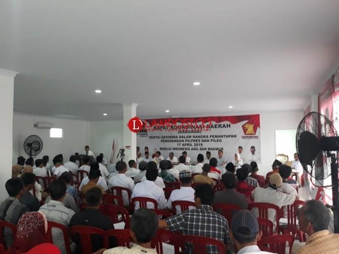 Gerindra Targetkan Menangi Pemilu di Tuba dan Mesuji