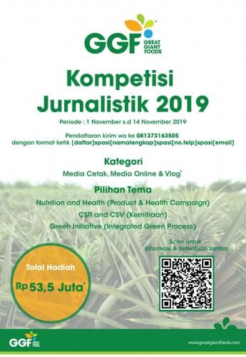 GGF Gelar Kompetisi Karya Jurnalistik dan Vlog
