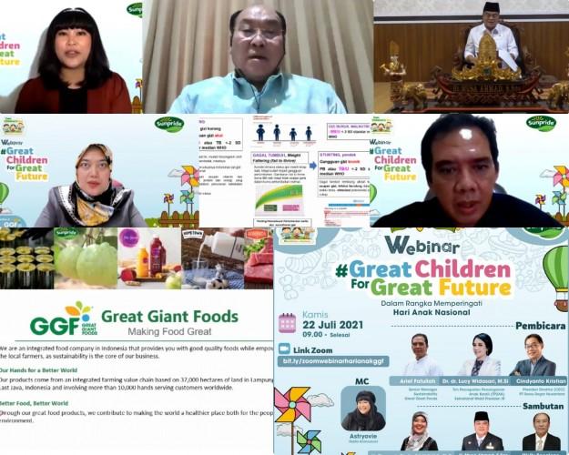 GGF Sambut Hari Anak Indonesia 2021 dengan Webinar Stunting