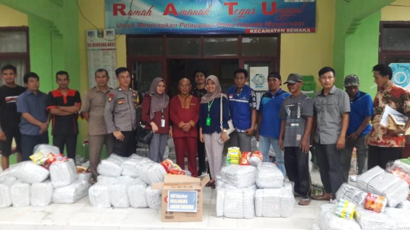 GGF Volunteer Bantu Korban Banjir Bandang Tanggamus