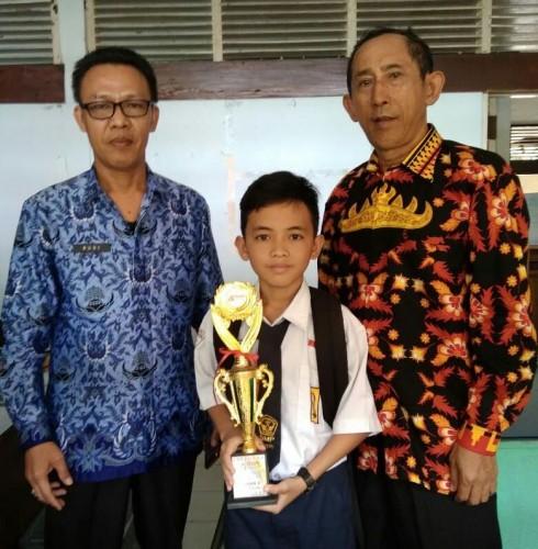 Gilang Ramadhan Raih Juara 3 KarateTingkat Kota Bandar Lampung