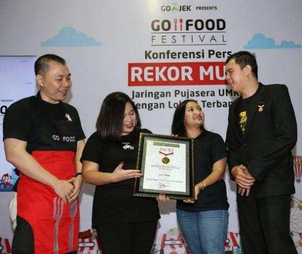 Go-Food Festival Raih Rekor MURI