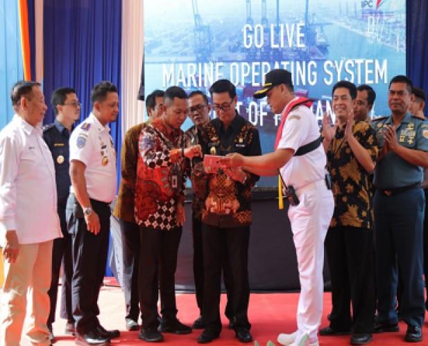 Go Live MOS Dorong Peningkatan Ekspor Pelabuhan Panjang