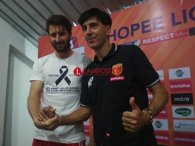 Golec : Kemenangan Ini untuk Almarhum Hartono dan Reza