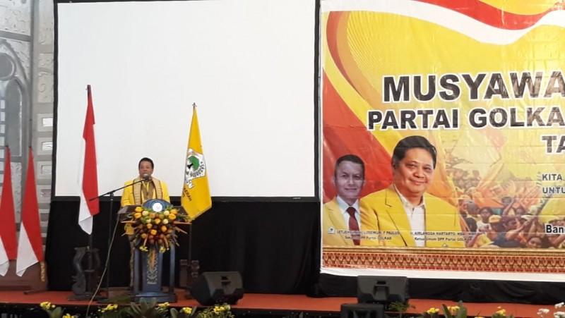 Golkar Lampung Bidik Menang di Empat Daerah