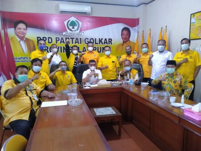 Golkar Lampung Optimalisasi dan Sempurnakan Kepengurusan