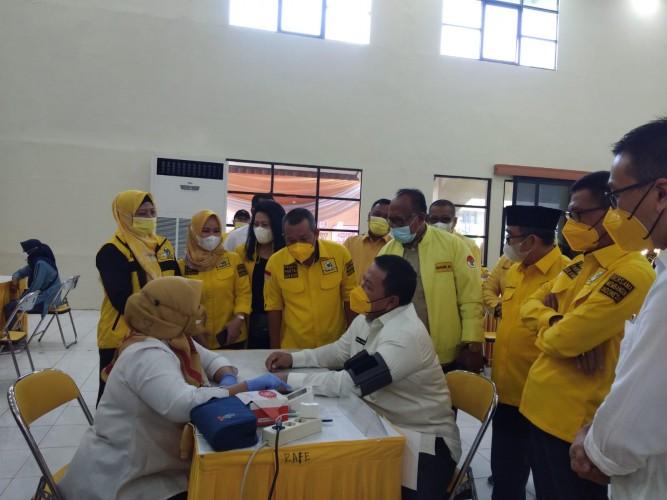 Golkar Lampung Target Suntikkan 46.000 Dosis Vaksin