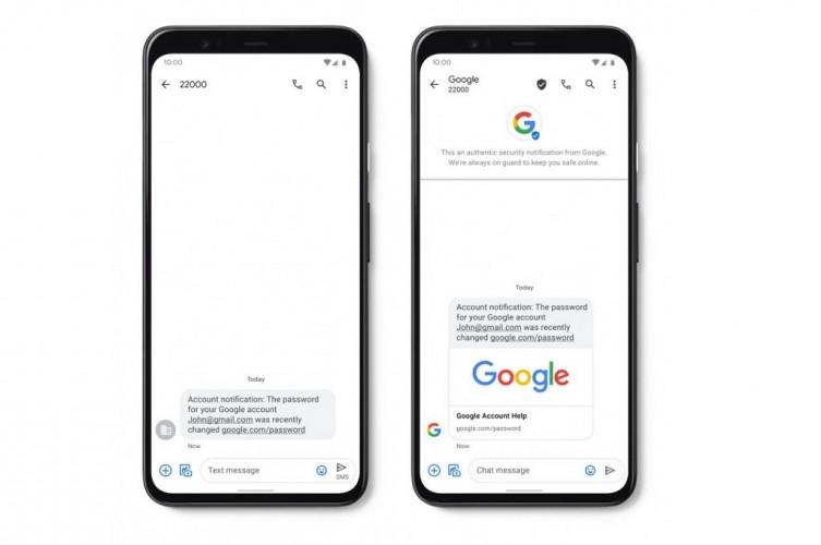 Google Kenalkan SMS Terverifikasi dan Spam Protection untuk Pesan