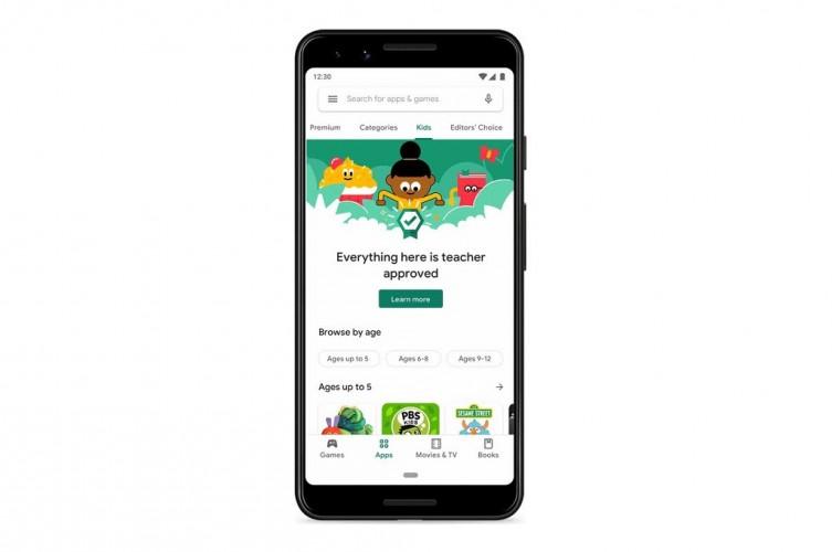 Google Play Store Bantu Orang Tua Temukan Konten untuk Anak