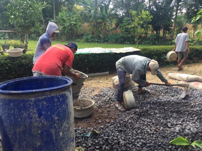 Gotong Royong Kunci Pembangunan Dusun Simbaringin