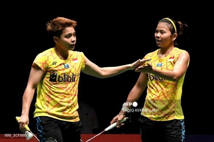 Greysia/Apriyani Catat Rekor Pertandingan Terlama di BWF World Tour Finals