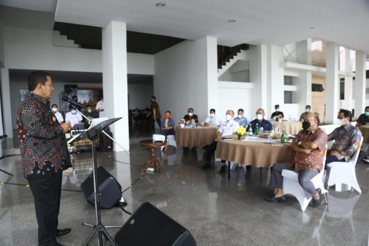 Gubernur Ajak Media Group News Bersinergi Bangun Lampung