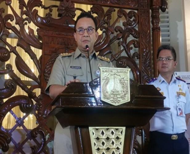 Gubernur Anies Beri Sinyal Setop PSBB Transisi