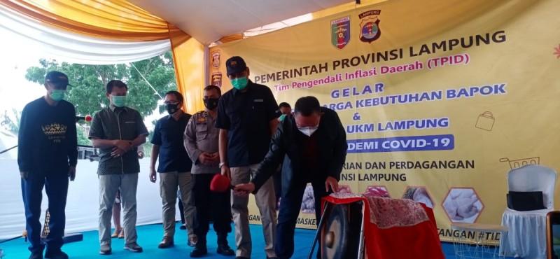 Gubernur Apresiasi Kinerja TPID Stabilisasi Harga Bahan Pokok
