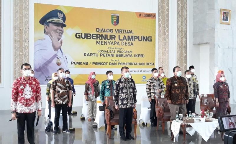 Gubernur Arinal Genjot Produksi Pertanian di Lampung