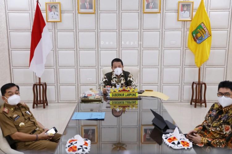 Gubernur Arinal Raih 2 Penghargaan KPPU Award 2020