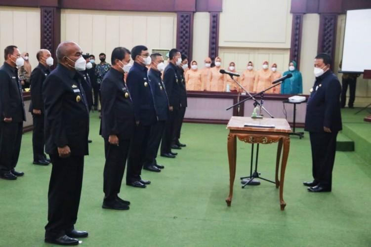 Gubernur Arinal Rombak 12 Pejabat Eselon II