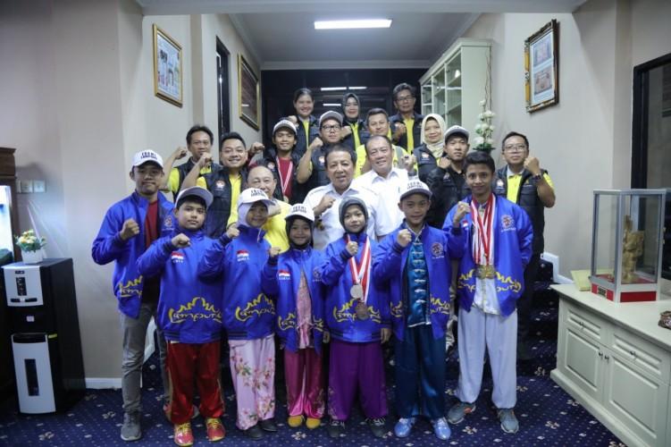 Gubernur Arinal Sambut Atlet Peraih Medali Formas Samarinda