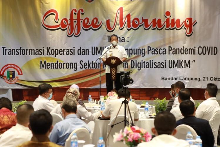 Gubernur Dorong Koperasi dan UMKMBangkit Lawan Pandemi