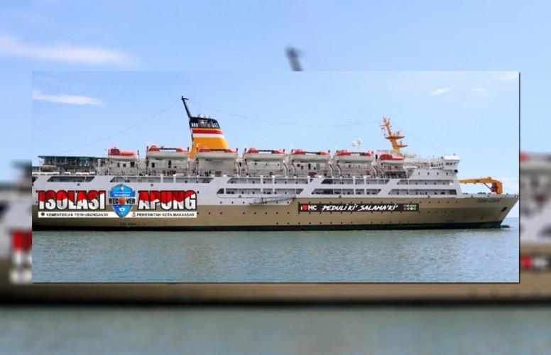 Gubernur Harap Pelni Pinjamkan Kapal Isolasi Apung Gratis