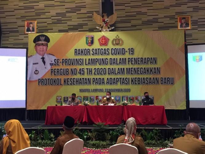 Gubernur Ingatkan Paslon Tak Abai Prokes pada Tahapan Pilkada
