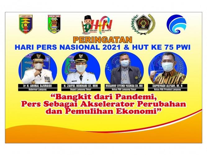 Gubernur Lampung akan Sukseskan HPN 2021