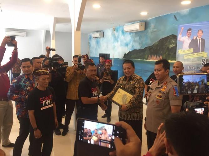 Gubernur Lampung Buka Rakernaslub Siwo PWI 2019