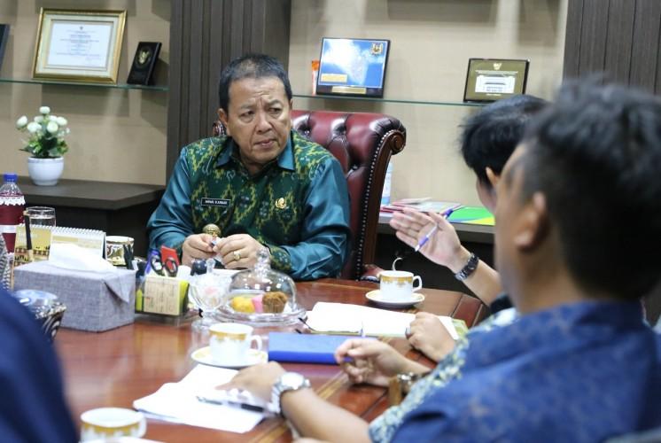 Gubernur Lampung Minta Bulog dan Dinas Pertanian Memetakan Daerah Pangan