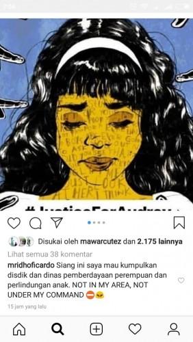 Gubernur Lampung Tak Ingin Kasus Buli Audrey Terjadi di Lampung