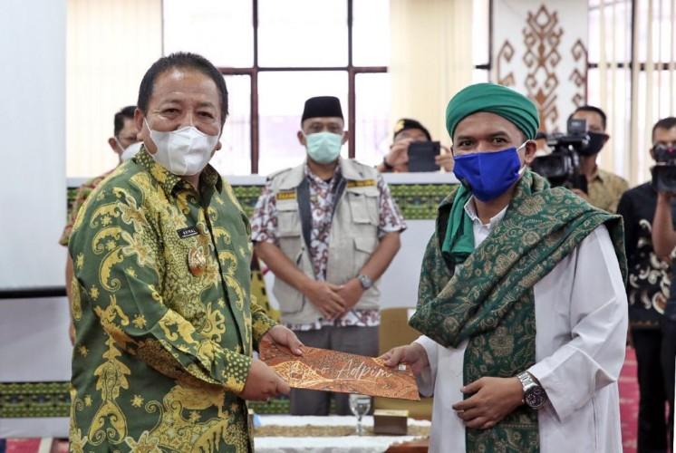 Gubernur Lampung Terima Aspirasi dari Forum Suara Masyarakat Lampung