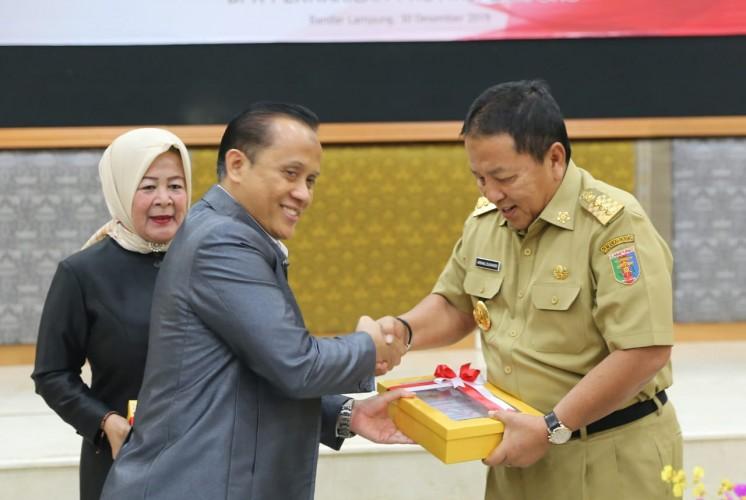Gubernur Lampung Terima Laporan Hasil Pemeriksaan BPK