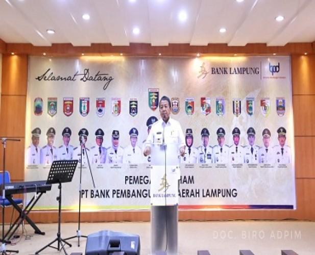 GubernurMinta Direksi Profesional demi Memajukan PT Bank Lampung
