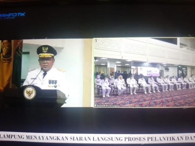 Gubernur Minta Kepala Daerah yang Baru Dilantik Fokus Tangani Covid-19