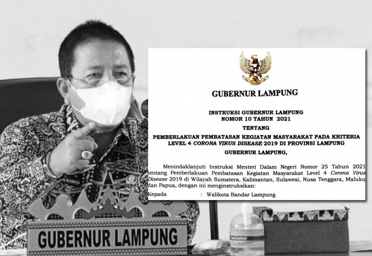 Gubernur Minta Penyaluran Bansos di Bandar Lampung Dikebut