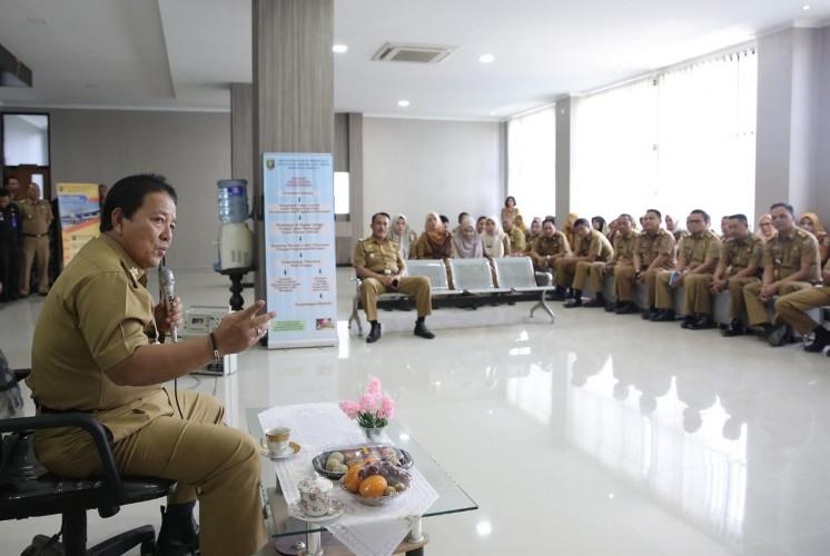 Gubernur Pantau Kualitas Pelayanan Terpadu Satu Pintu