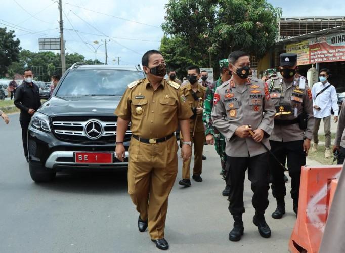 Gubernur Pastikan Kesiagaan Titik Masuk Lampung