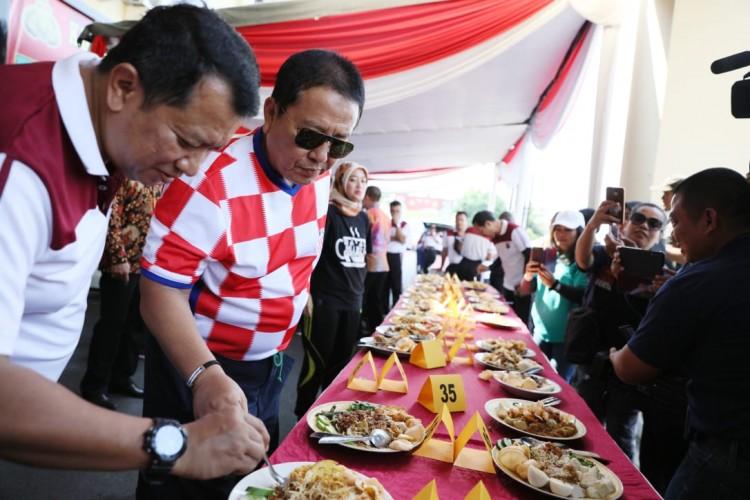 Gubernur Raih Juara Ke-3 Lomba Masak KetoprakHUT Bhayangkara