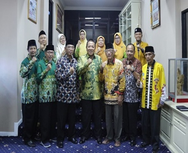 Gubernur Rangkul Muhammadiyah Lampung Bangun Kesejahteraan