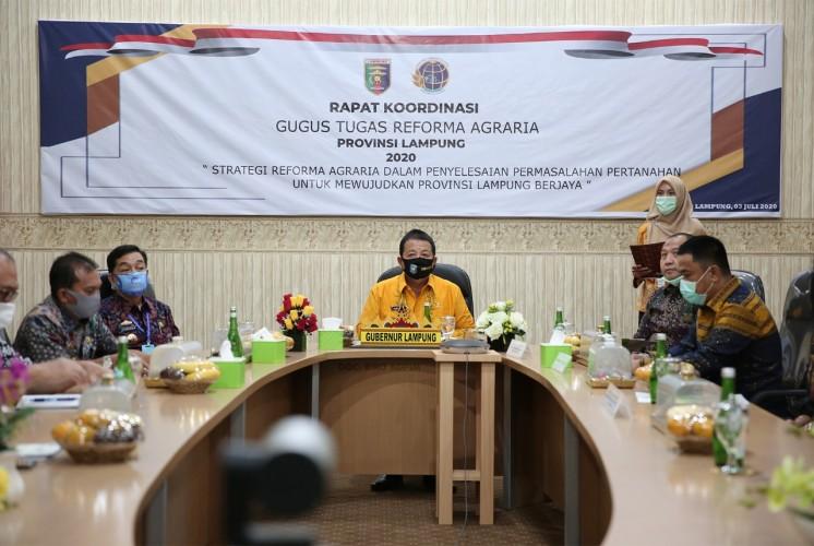 Gubernur Sebut Reforma Agraria Guna Selesaikan Persoalan Pertanian
