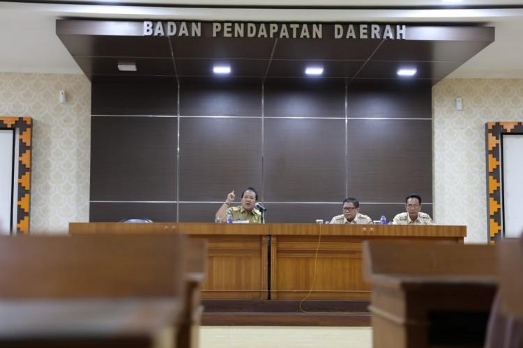 Gubernur Sidak ke Bapenda Provinsi Lampung, Bahas Peningkatan PAD