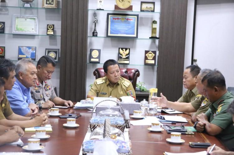 Gubernur Targetkan Pembangunan Suaka Rhino Sumatera Selesai Tahun Ini