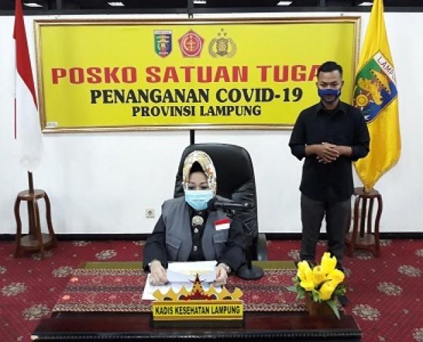 Gugus Tugas Covid-19 Lampung Tidak Tahu Loekman-Ellya Dipindahkan ke Jakarta