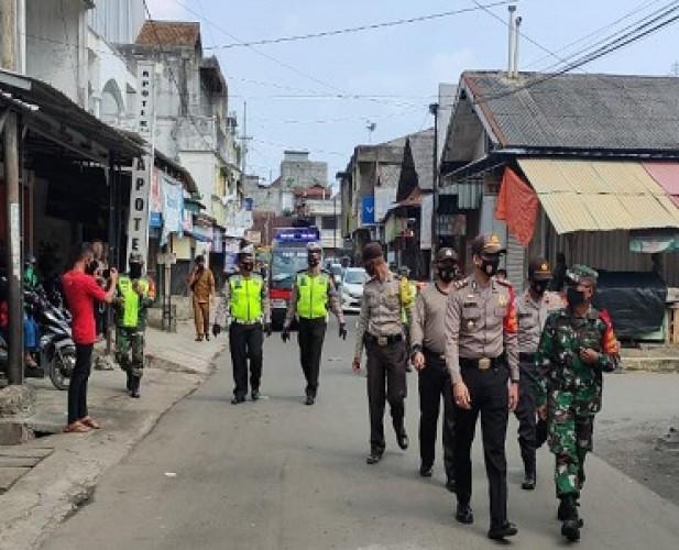 Gugus Tugas Covid-19 Tanggamus Tutup Sementara Pasar Talangpadang